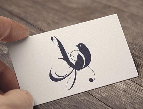 Logogestaltung für eine Sängerin