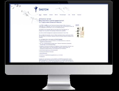 Homepage des Vereins der österreichischen Ausbildungsgesellschaft für TCM