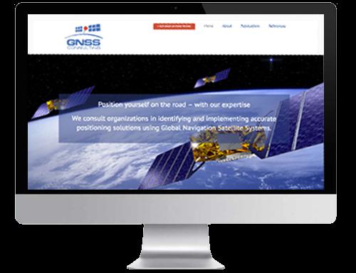 Homepage für eine Unternehmensberatung
