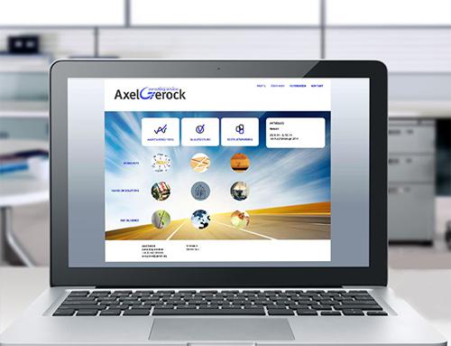 Website für einen Unternehmensberater